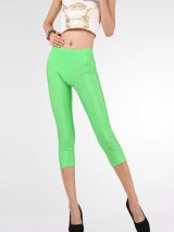 női neon capri leggings